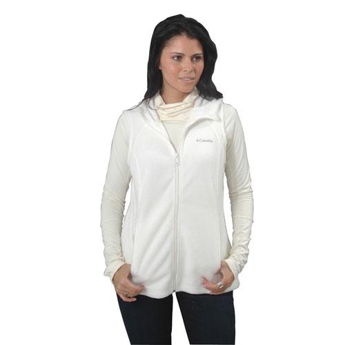 Women's Benton Springs Hooded Vest, White, swatch