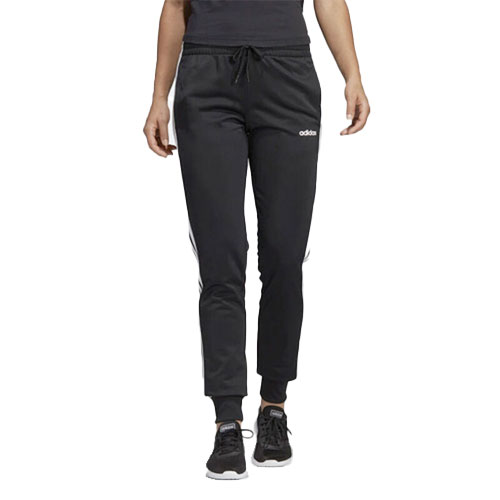 Women's Essentials Tricot Joggers, Black/White, swatch