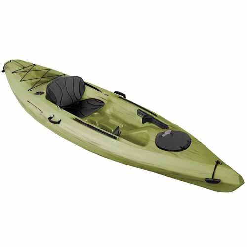 Voyager Deluxe Sit-On-Top Angler Kayak, Seaweed, swatch