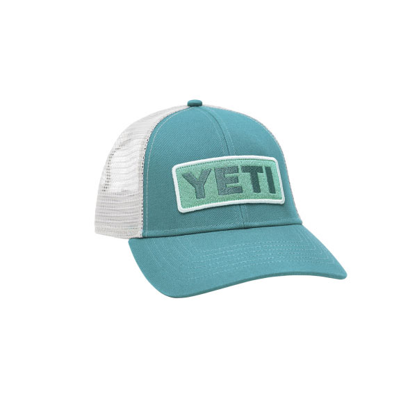 Low-Profile Trucker Hat, Green, swatch