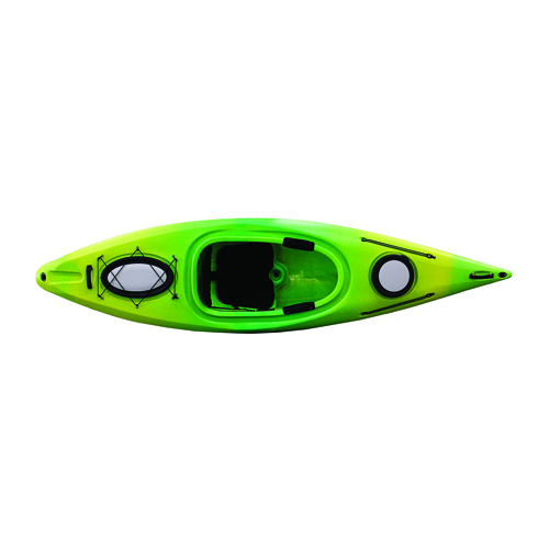 Quantum 124 Kayak, Yellow/Green, swatch