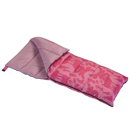 Youth Moose Sleeping Bag, Pink, swatch