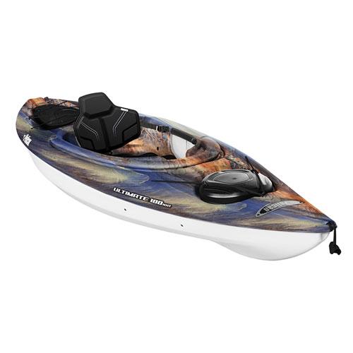 Ultimate 100NXT Sit-In Kayak, Tan/Blue, swatch