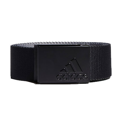 Men's Reversible Web Golf Belt, Black, swatch