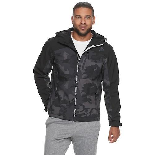 Men's Softshell Jacket, Camouflage, swatch