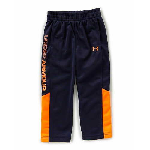 Boy's Brawler 2.0 Pant, Navy/Orange, swatch
