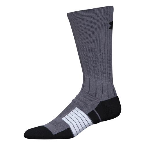 Men's Unrivaled Crew Socks, Gray, swatch