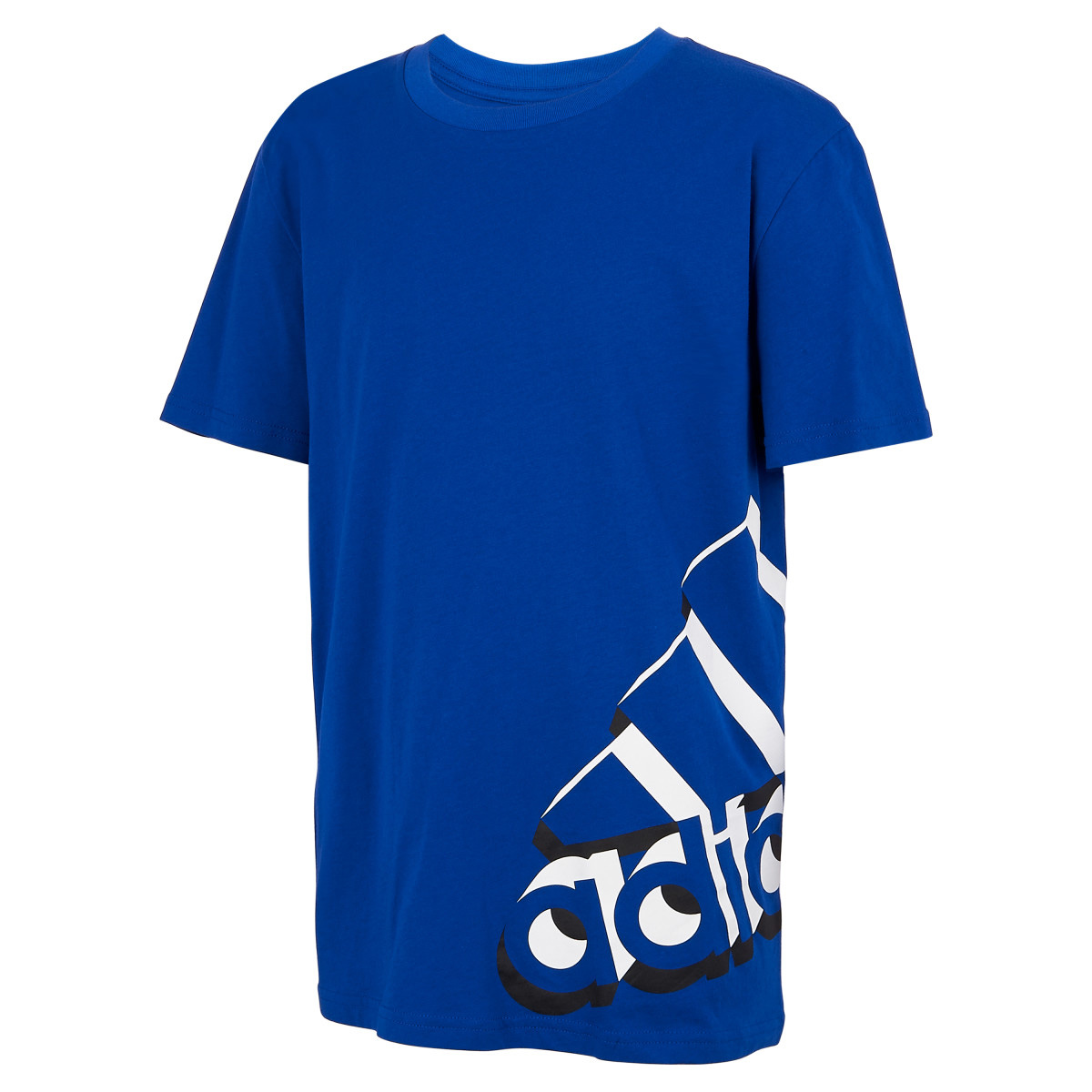 Boys' Short Sleeve Core Repeating Tee, Blue, swatch
