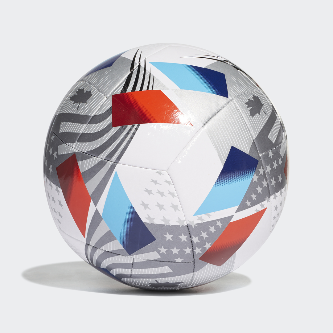 MLS Nativo XXV Training Soccer Ball, Red, White And Blue, swatch