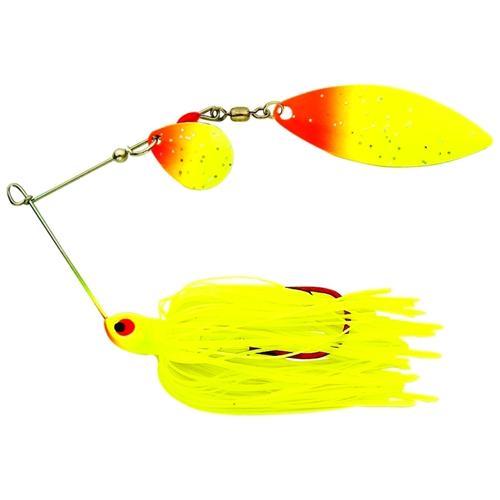 Blackbird Reed-Runner Tandem Spinner Bait, Sunrise, swatch