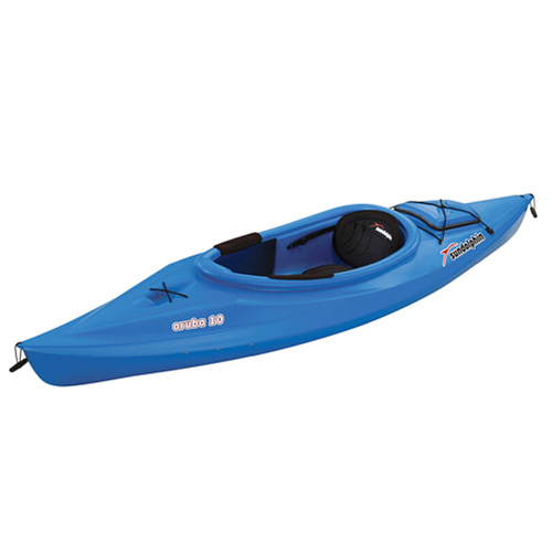 Aruba 10' Sit-In Kayak, Blue, swatch