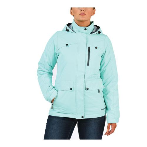 Women's Print Daybreak Ski Jacket, Lt Green,Mint,Fern,Seafom, swatch