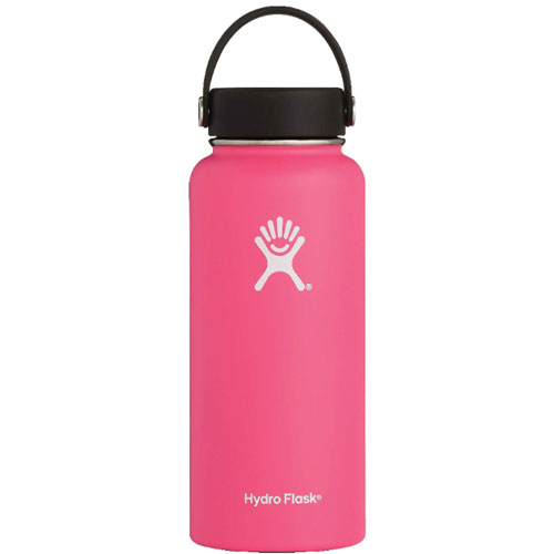 32 Oz Wide Mouth Water Bottle, Watermelon, swatch