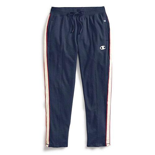 Women's Heritage Fleece Pants, Navy, swatch