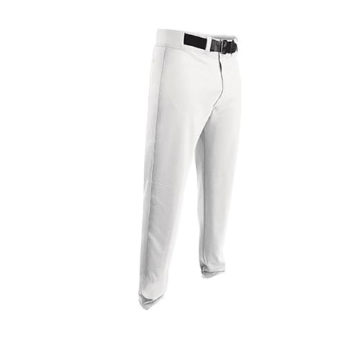 Youth HNR Game Open Bottom Baseball Pant, White, swatch