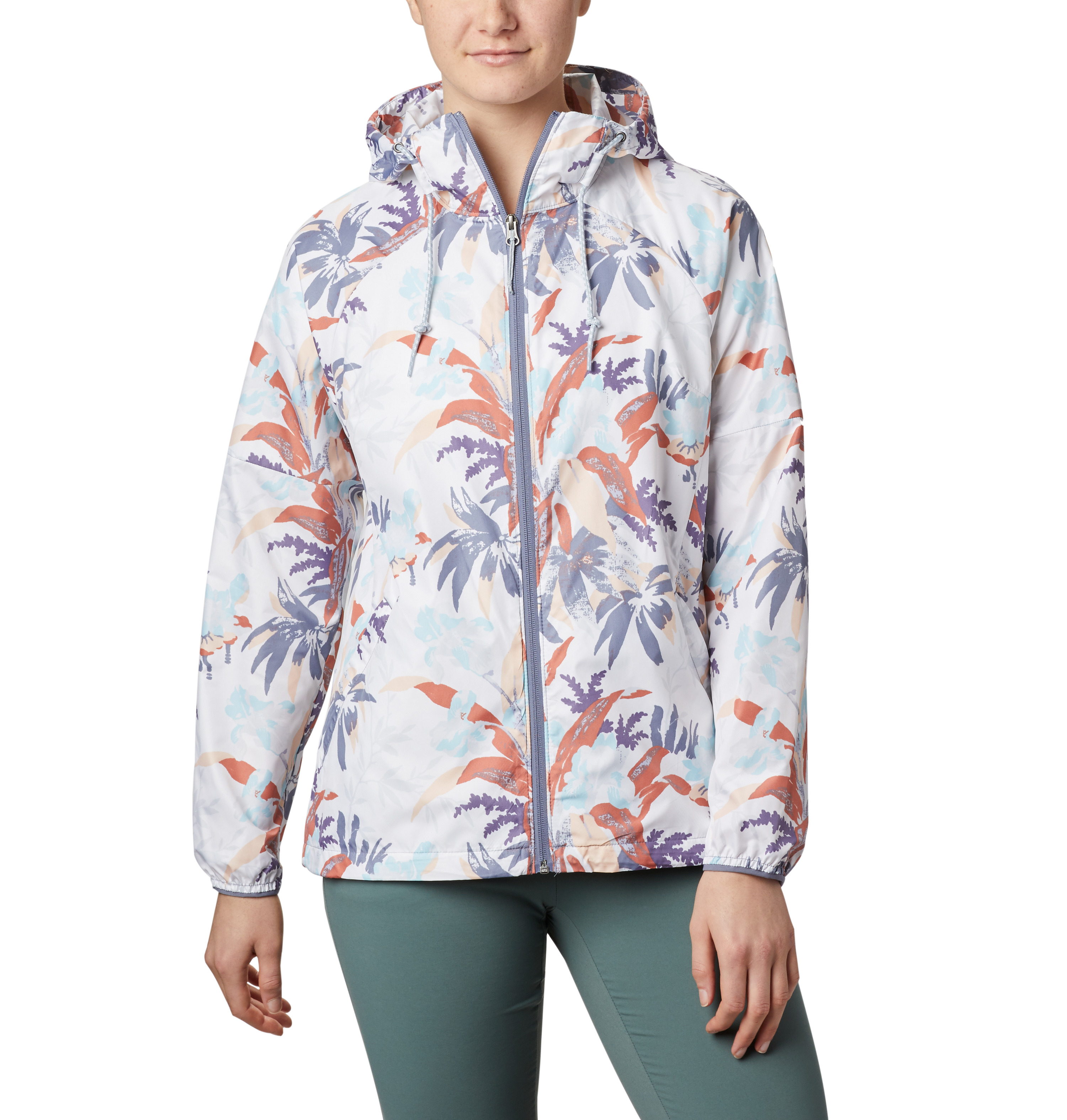 Women's Side Hille Floral Jacket, Floral, swatch