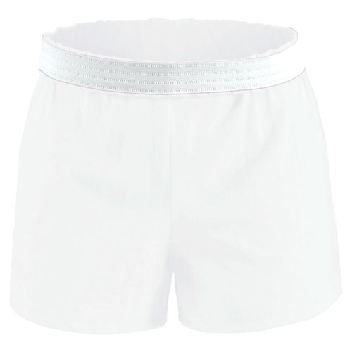 Women's Cheer Shorts, White, swatch