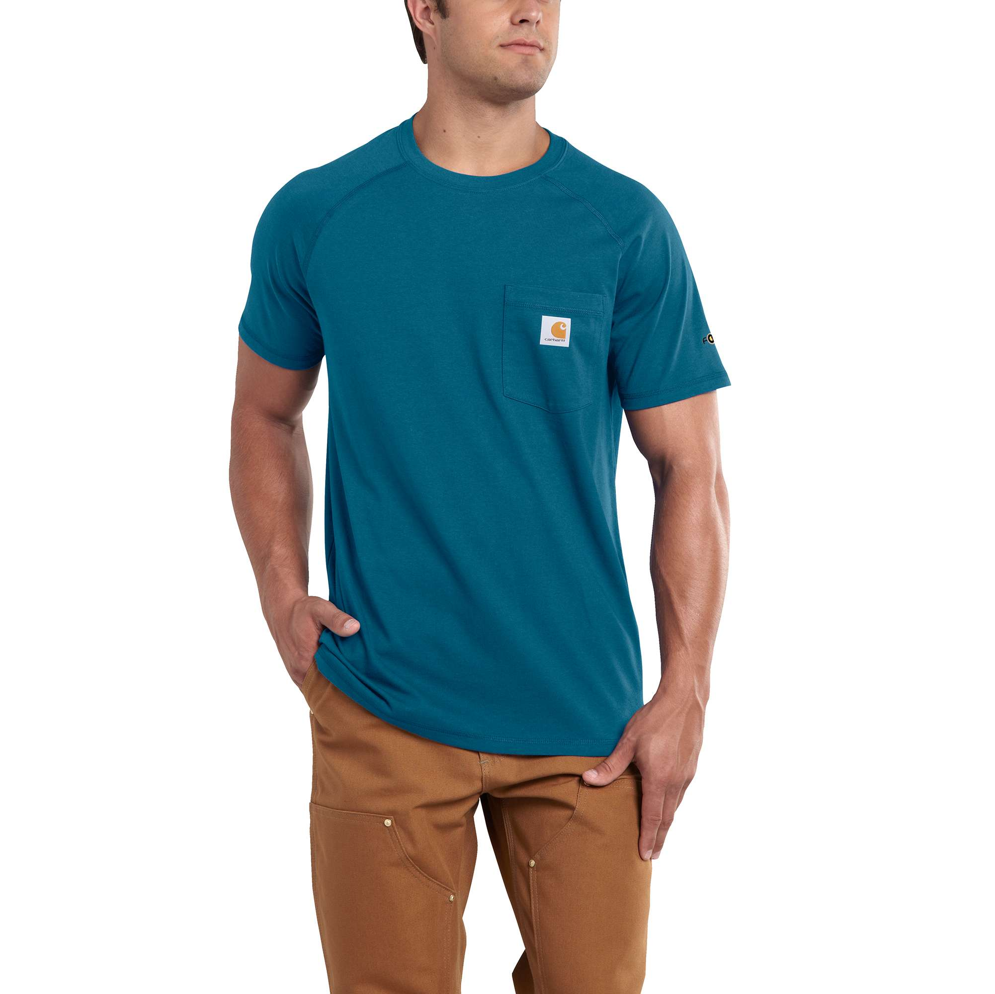 Men's Force Delmont Short Sleeve T-Shirt, Blue, swatch