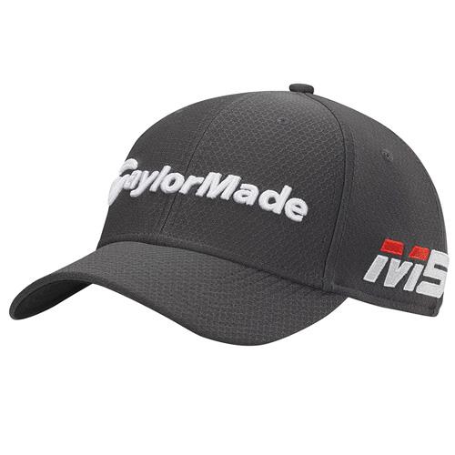 Men's New Era Tour 39Thirty Golf Hat, Graphite, swatch