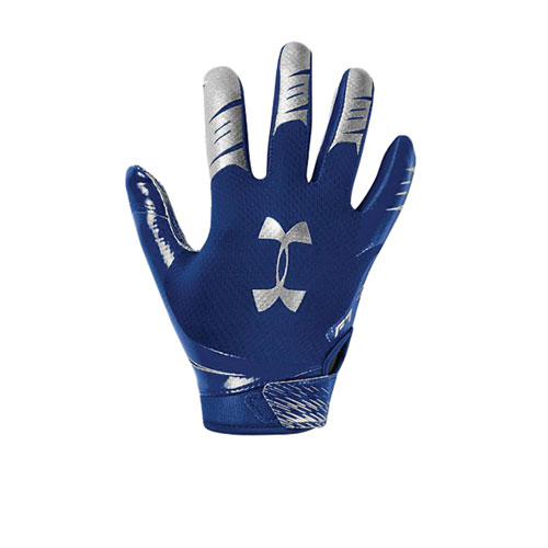 Youth F7 Football Receiver Gloves, Royal Bl,Sapphire,Marine, swatch