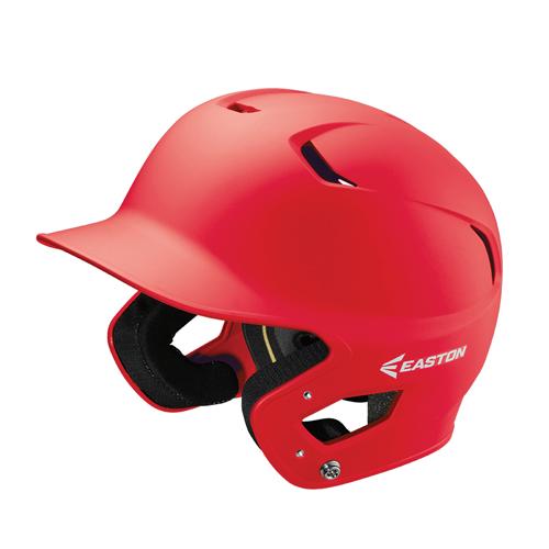 Senior Z5 Grip Batting Helmet, Red, swatch