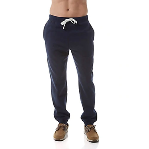 Men's Fleece Pant, Navy, swatch