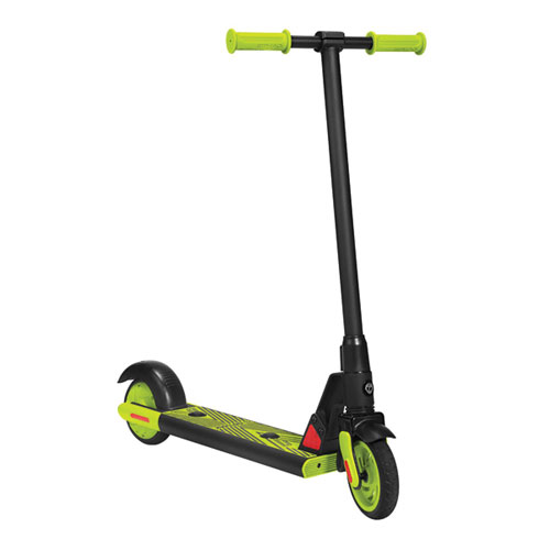 Gks Electric Scooter, Black/Lime Green, swatch