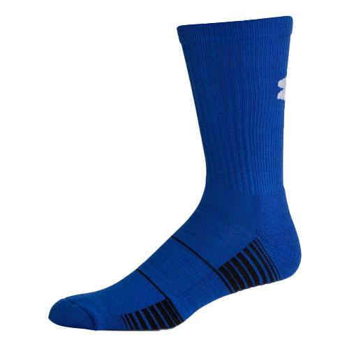 Men's Team Crew Socks, Blue, swatch