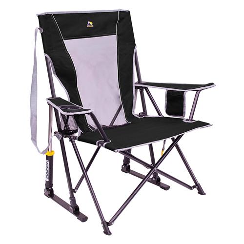 Comfort Pro Rocker Outdoor Chair, Black, swatch