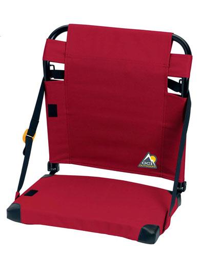 Bleacher Back Stadium Seat, Red, swatch