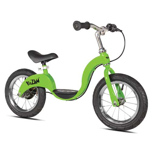 "10"" Balance Bicycle, Green, swatch"
