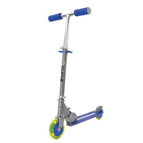 Light Up 2-Wheel Scooter, Blue, swatch