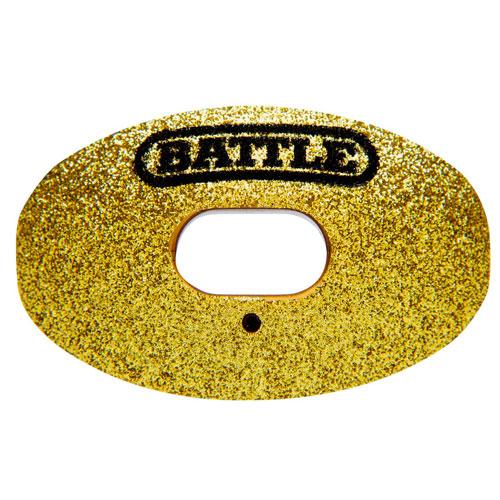 Oxygen Glitter Mouthguard, Gold, Yellow, swatch