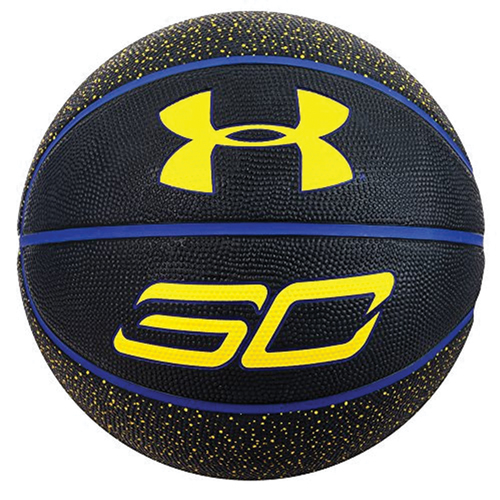 Curry Basketball, Black/Blue, swatch