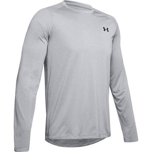 Men's Tech Long Sleeve T-Shirt, Lt Gray,Dove Gray, swatch