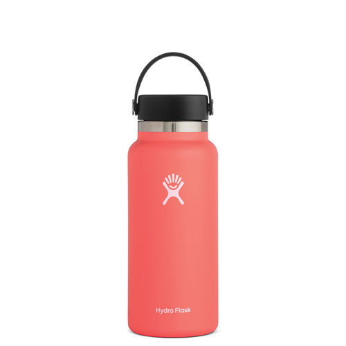 32 Oz Wide Mouth Water Bottle, Coral, swatch
