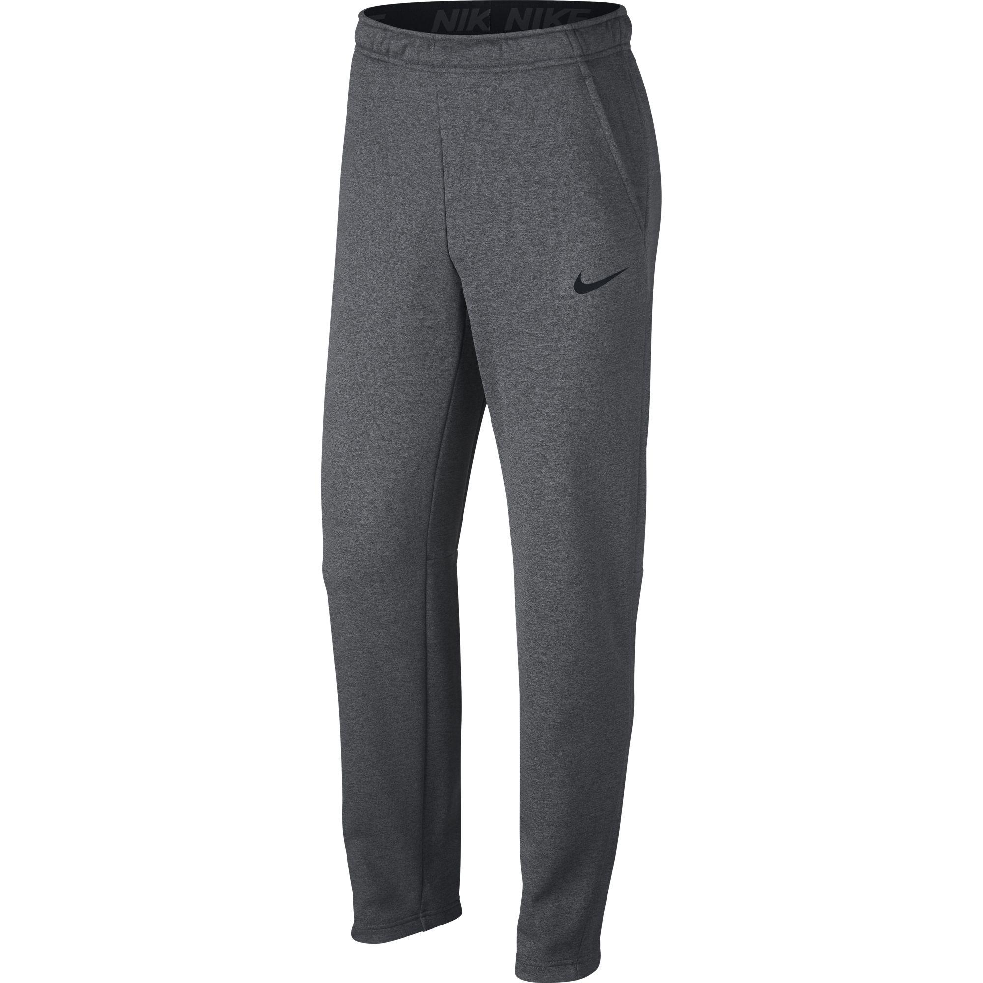 Men's Therma Fleece Pant, Charcoal/Black, swatch