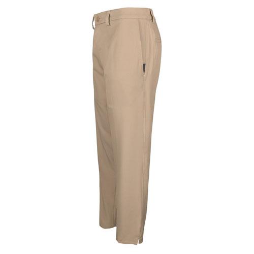 Men's 18 Pro Straight Fit Flat Front Golf Pants, Tan,Beige,Fawn,Khaki, swatch