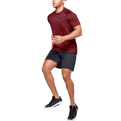 Men's Tech Short Sleeve T-Shirt, Red, swatch