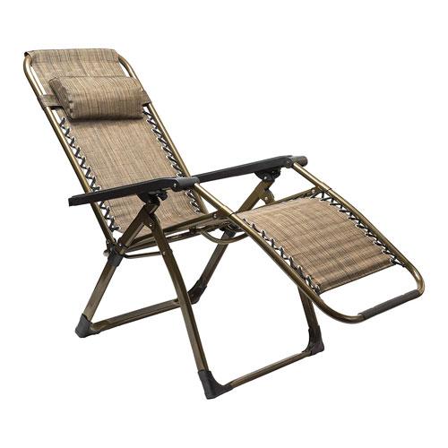 Zero Gravity Chair, Brown, swatch