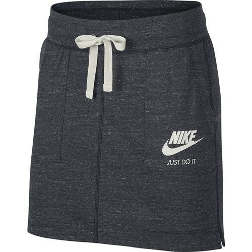 Women's Sportswear Gym Vintage Skirt, Charcoal,Smoke,Steel, swatch