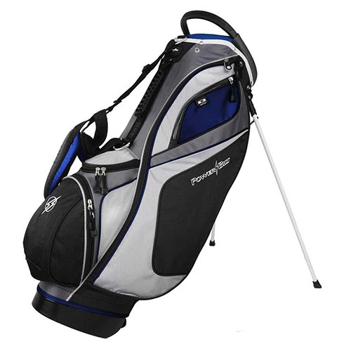 Golf Dunes 14-Way Stand Bag, Black/Blue, swatch