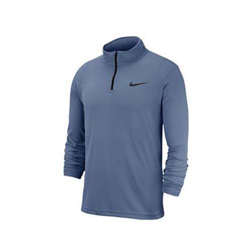 Men's Superset Long Sleeve 1/4 Zip Training Top, Blue, swatch