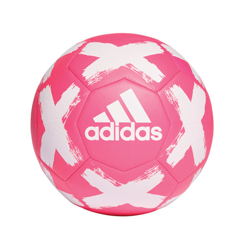 Starlancer Club Soccer Ball, Pink/White, swatch