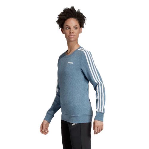 Women's Essentials 3-stripes Sweatshirt, Lt Blue,Powder,Sky Blue, swatch