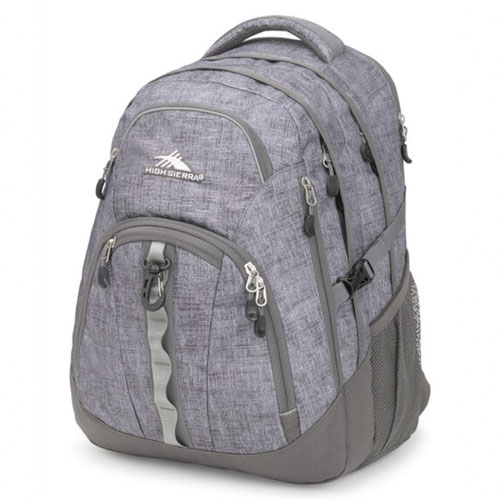 Access II Backpack, Heather Gray, swatch