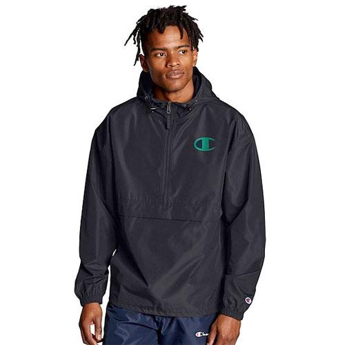 Men's Packable Jacket, Black, swatch
