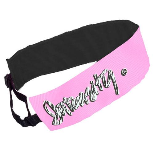 Intensity Showboat Headband, Pink/Black, swatch