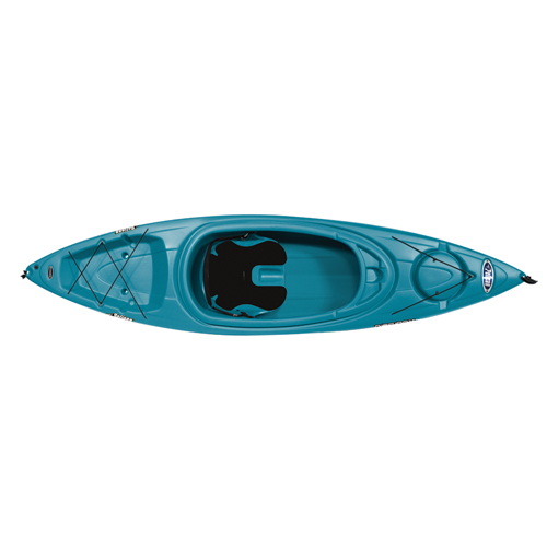 Rise 100X Sit-In Kayak, Turquoise,Aqua, swatch