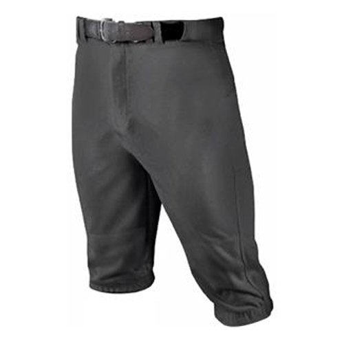 Youth Knicker Baseball Pants, Black, swatch